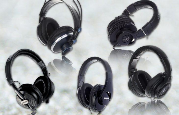 kopfhörer test mackie akg audiotechnica shure behringer