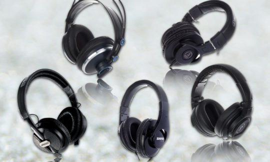 Vergleichstest: Günstige Kopfhörer von AKG, Audio Technica, Behringer, Mackie, Shure