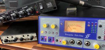 Vergleichstest: Warm Audio TB12, Focusrite ISA One, FMR RNP 8380, Mikrofonvorverstärker