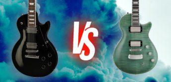 Kaufberatung: Vergleichstest Gibson Les Paul Studio vs. Hagstrom Ultra Max