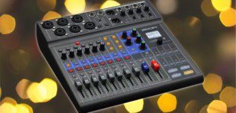 Test: Zoom LiveTrak L-8, Portables Mischpult und Recorder