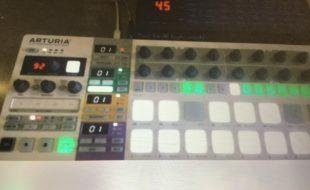 DSI Mono Evolver + Arturia Beatstep pro / Set