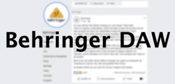 Behringer arbeitet an Music Tribe DAW