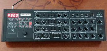Behringer Pro-800 Synthesizer-Klon des Prophet-600 mit GliGli-Mod