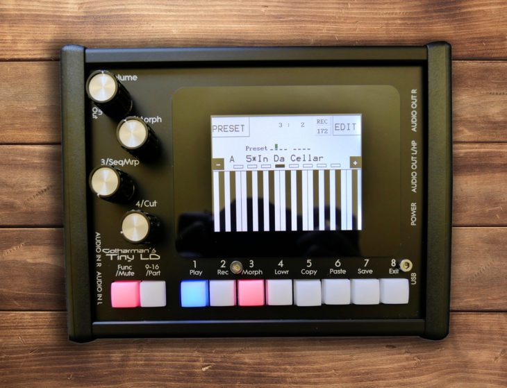 Test: Gotharman's Tiny LD, Groovebox
