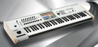 Superbooth 20: Korg Kronos Titanium Music Workstation