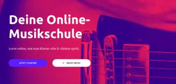 Online-Musikschulen bieten kostenlose Kurse für Gitarre und Piano