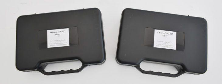 Oktava MK-115 und Oktava MK-117