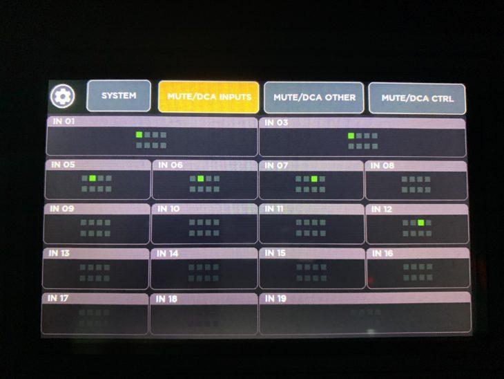 RCF M 20X Digital Mixer_DCA