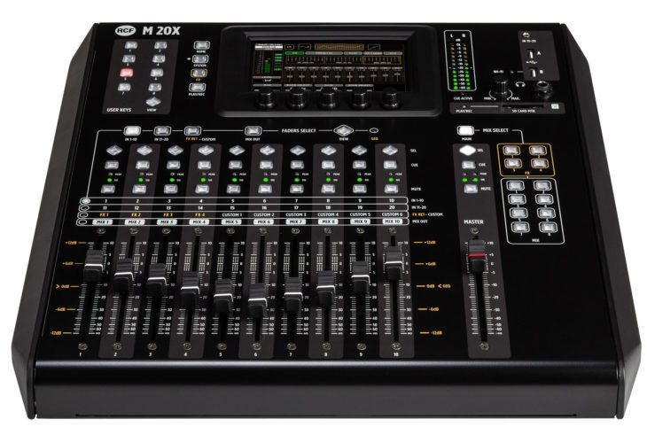 RCF M 20X Digital Mixer_front-acceso