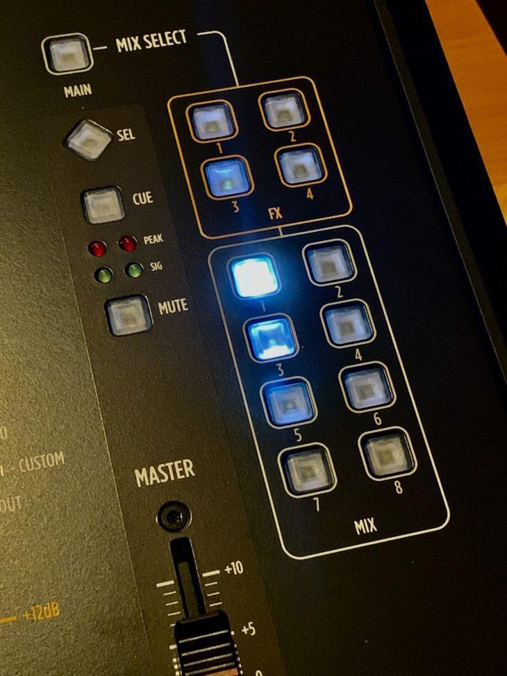 RCF M 20X Digital Mixer_Mix-Select