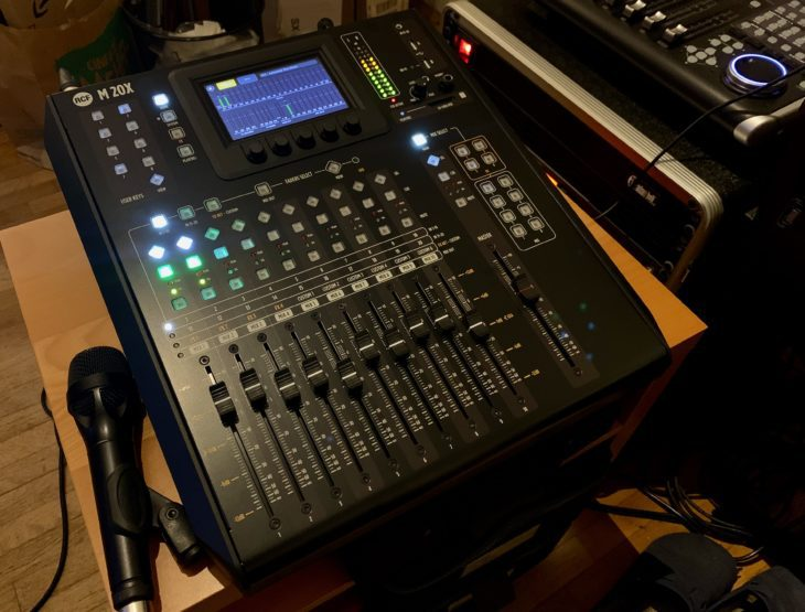 RCF M 20X Digital Mixer_Top