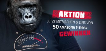 AMAZONA.de T-Shirt for free Aktion 2020