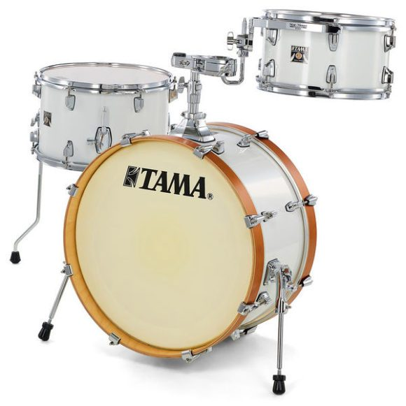 test tama superstar classic neo mod white smoke