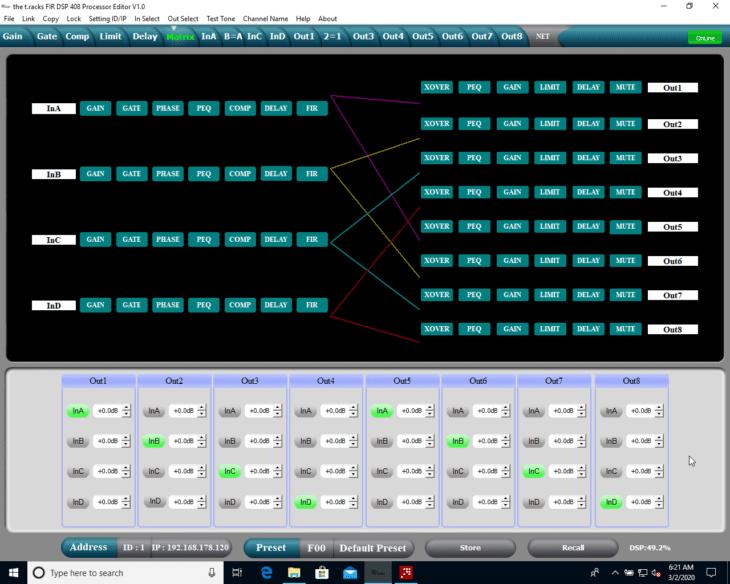 Test: the t.racks FIR DSP 408 Lautsprecher Controller