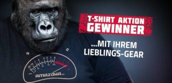 AMAZONA.de T-Shirt for free Aktion 2020 – die Gewinner