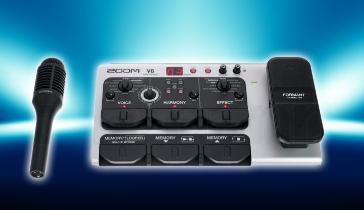 Test: Zoom V6 Vocal Processor Test: Zoom V6 Vocal Processor Test: Zoom V6 Vocal Processor