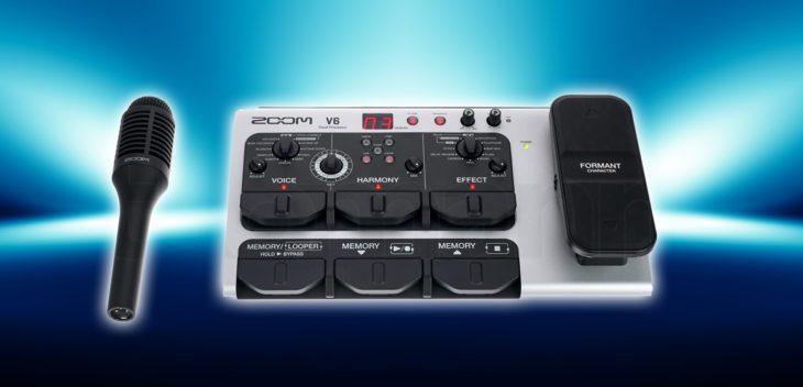 Test: Zoom V6 Vocal Processor Test: Zoom V6 Vocal Processor Test: Zoom V6 Vocal Processor