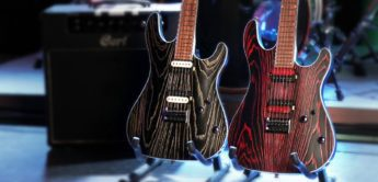 Test:Cort KX 300 Etched Black Red, E-Gitarre