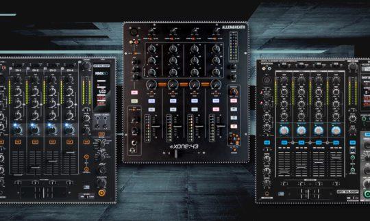 Vergleichstest: 4-Kanal DJ-Mixer unter 800,- Euro