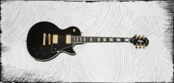 Test: Epiphone Les Paul Custom Ebony E-Gitarre