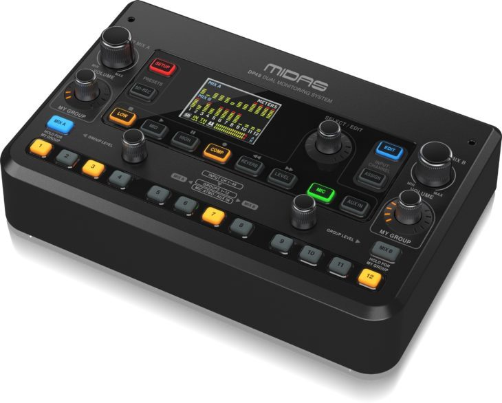 MIDAS DP48-Personal-Monitor-Mixer__P0BMX_Right