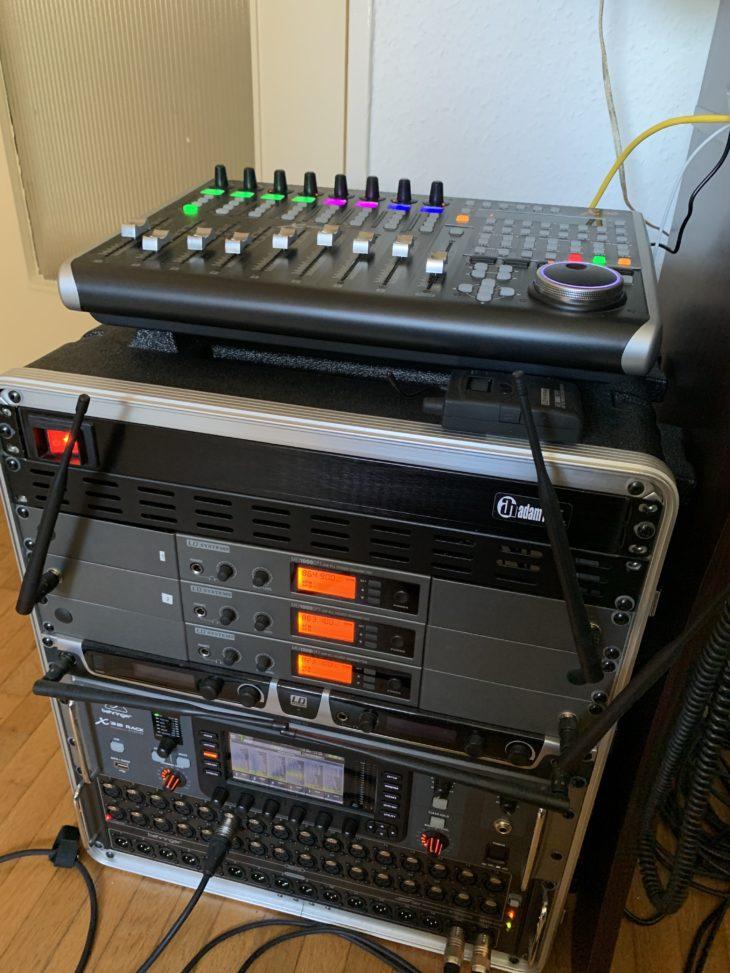 MIDAS DP48-Personal-Monitor-Mixer_IEM-Rack_Testumgebung