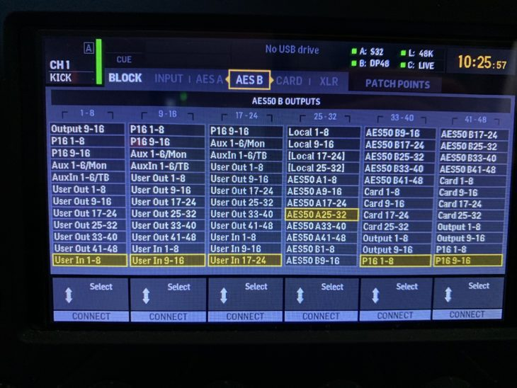 MIDAS DP48-Personal-Monitor-Mixer_X32-Routing