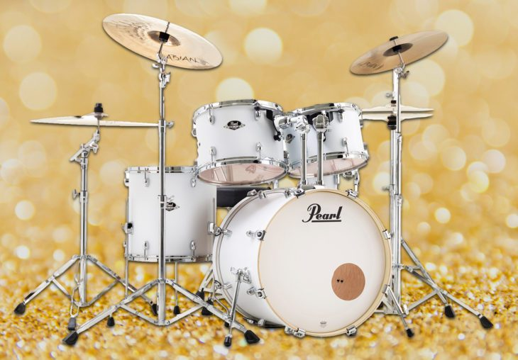 test pearl export drumset
