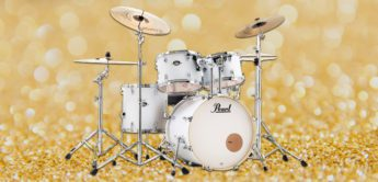 Test: Pearl Export Drum Set, Schlagzeug