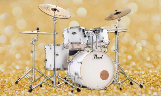 Test: Pearl Export Drum Set, Schlagzeug