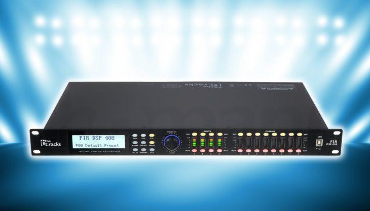 Test: the t.racks FIR DSP 408 Lautsprecher Controller Test: the t.racks FIR DSP 408 Lautsprecher Controller Test: the t.racks FIR DSP 408 Lautsprecher Controller