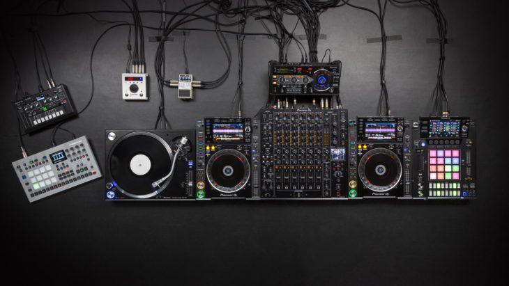 Pioneer DJM-V10 DJ-Setup