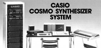 Vintage: Casio Cosmo Synthesizer ZZ-1 Workstation