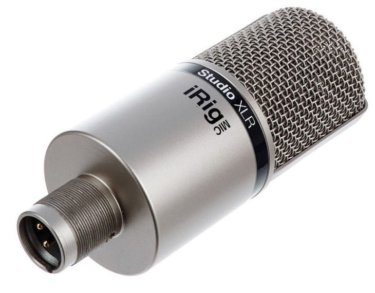 IK MULTIMEDIA IRIG MIC STUDIO XLR test