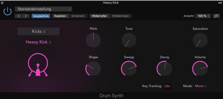 Logic Pro X 10.5 Drum Synth