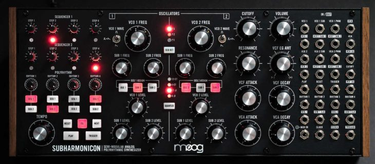 Moog Subharmonicon synthesizer