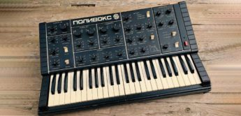 Blue Box: Formanta Polivoks Analogsynthesizer