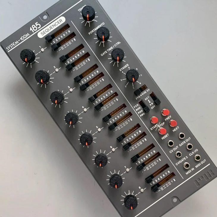 ryk modular m185 sequencer system-100m