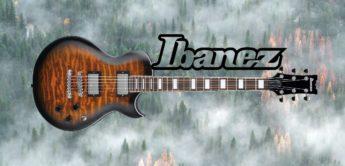 Test: Ibanez ART120QA-SB, E-Gitarre
