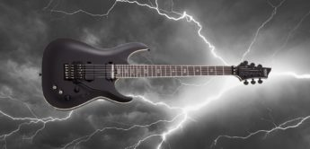 Test: Schecter C-1 FR S SLS Evil Twin SBK, E-Gitarre