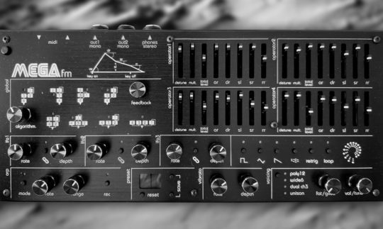 Test: Twisted Electrons MEGAfm, Synthesizer mit FM-Synthese