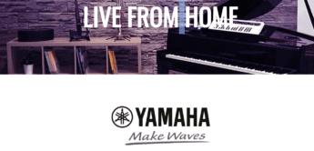Yamaha Live From Home – Online Konzerte bekannter Künstler