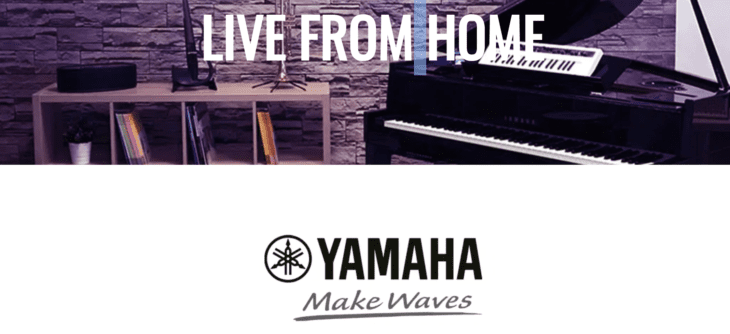 yamaha music live from home konzerte online
