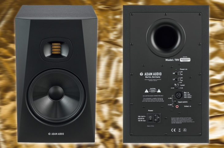 adam audio t8v test