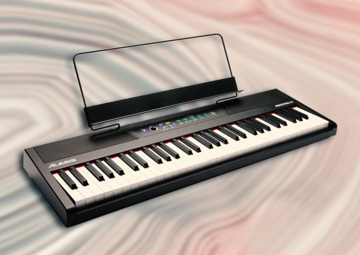 Alesis Recital 61, Mobiles Digitalpiano für Einsteiger