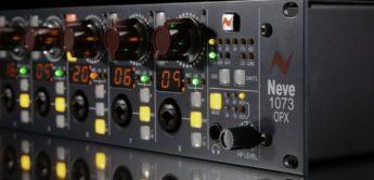 Test: AMS Neve 1073 OPX, 8 Kanal Mikrofonvorverstärker