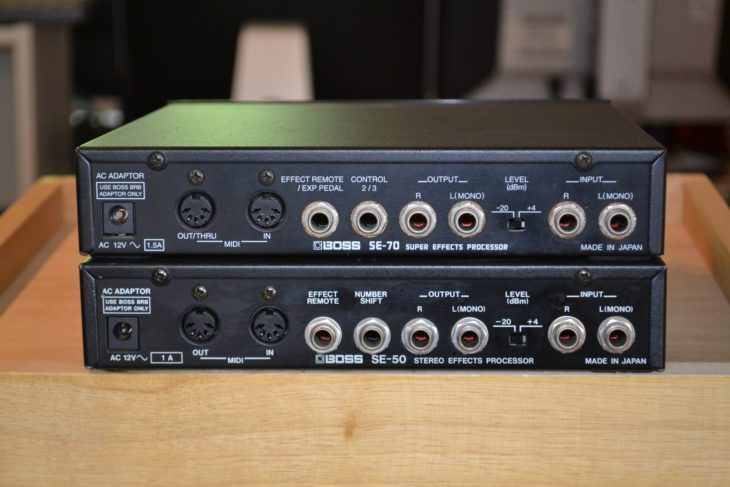 Boss SE-50, SE-70 Multi-Effektgeräte