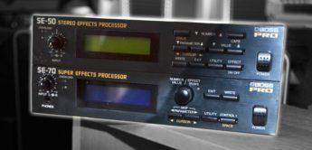 Zeitmaschine: Boss SE-50, SE-70 Multi-Effektgeräte (1984)