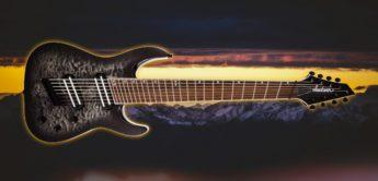 Test: Jackson SLATX8Q MS Soloist Tr.Bk.Burst, E-Gitarre